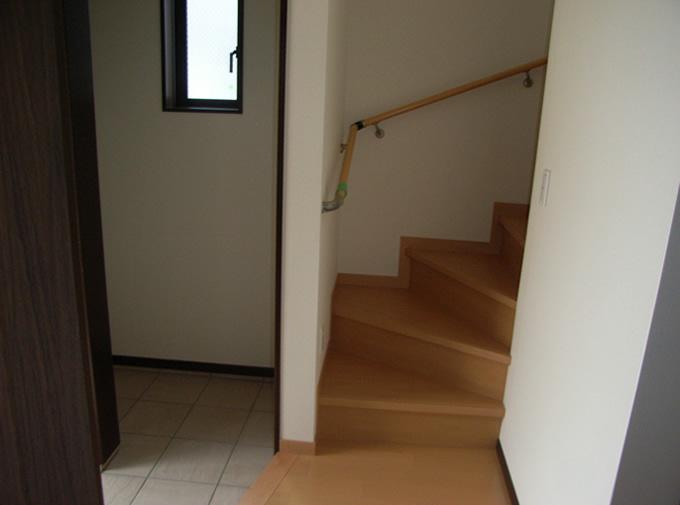 N様邸階段
