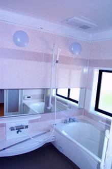 浴室は、ゆったり1.25坪にしました。
