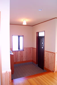 K様邸玄関1