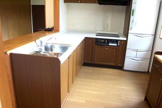 A様邸キッチン改装後