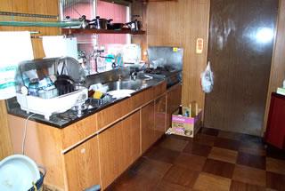 A様邸キッチン改装前